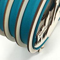 Aqua blauw